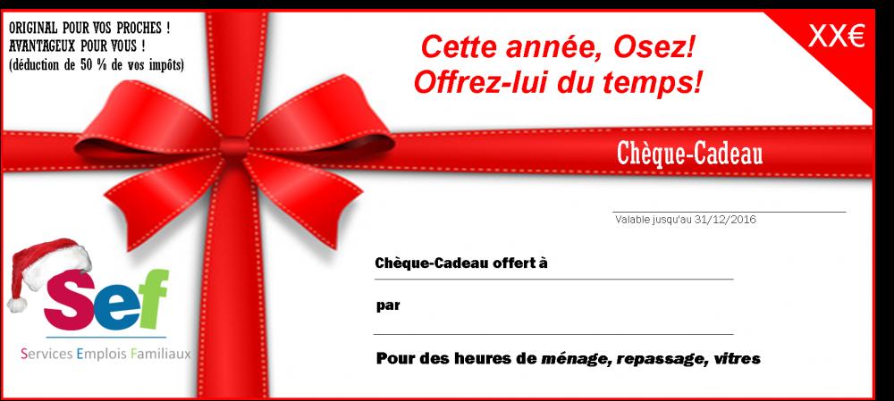 carte cheque cadeau