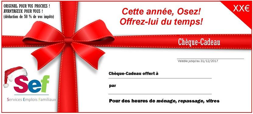 Image bon cadeau pour noel